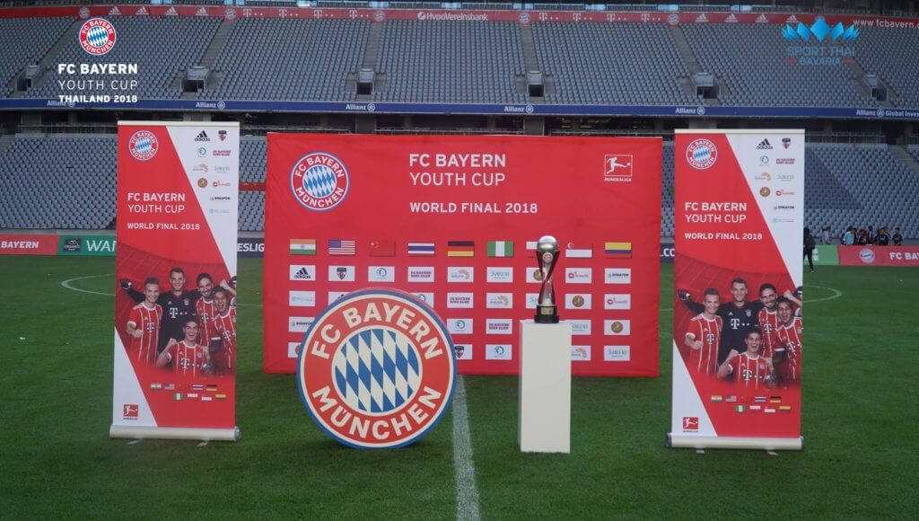 custom soccer trophy, soccer trophies, FC Bayern Youth cup, Fußball pokal