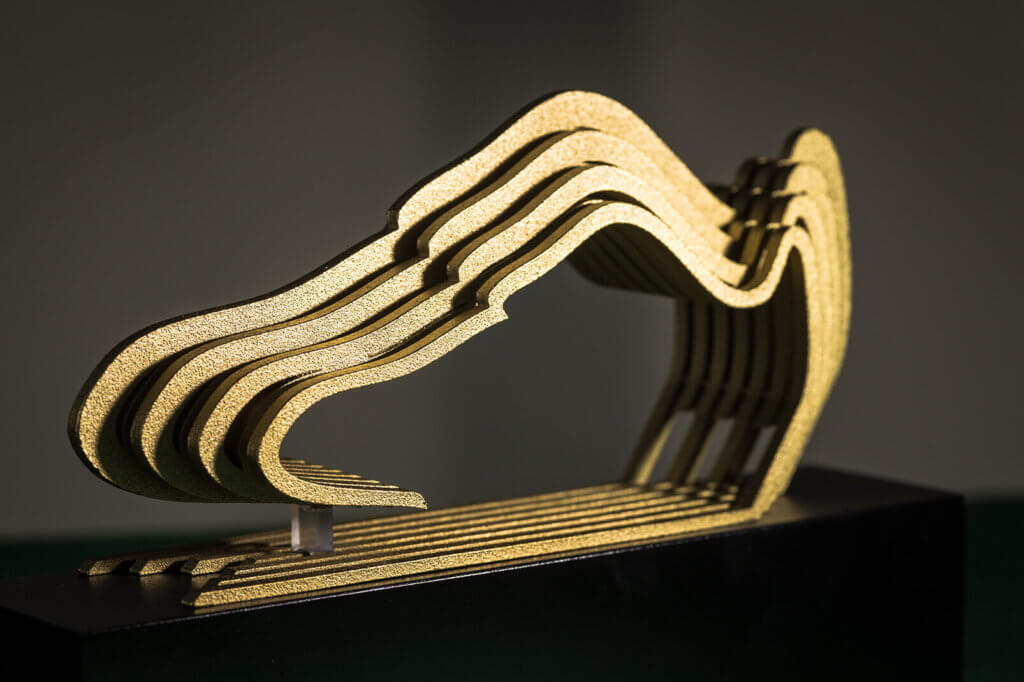 Bespoke awards, custom 3D printed trophies