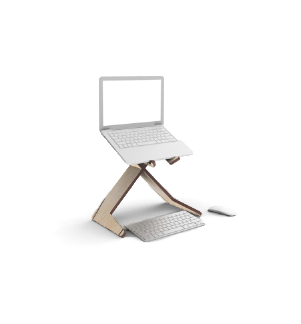 Custom standing desk, custom laptop stand